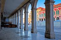 Prokurative square of Split arcades view