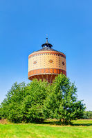 Water tower in Mittweida, Germany