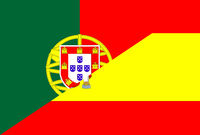 portugal spain flag