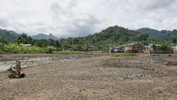 Dorf Ribeira Afonso, Sao Tome, Afrika