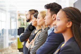 Gruppe Geschäftsleute mit Kompetenz
