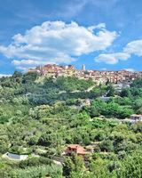 Urlaubsort Capoliveri auf der Insel Elba,Toskana,Mittelmeer,Italien
