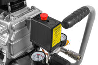 Air Compressor on white background - compressor pressure switch