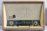 Vintage  retro tube  radio receiver