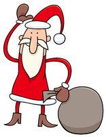 Santa Claus Christmas character cartoon