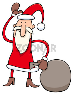 Santa Claus Christmas character cartoon