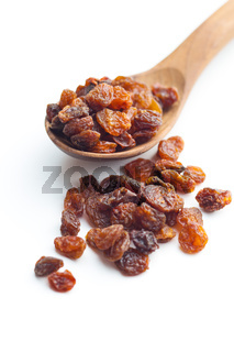 Sweet dried raisins.