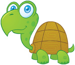 Turtle Cartoon Character