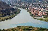 Ansicht von Mtskheta, Georgia