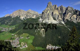 Corvara in Badia im Gadertal; Dolomiten; Suedtirol