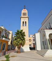 greek church tower