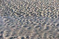 Rippelmarken am Strand von Amrum