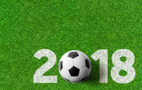 Football background 2018