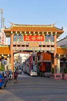 Chinatown Kuching, Sarawak, Borneo