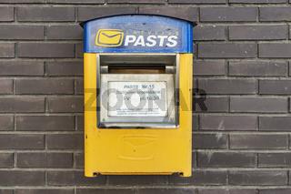 Lettischer Briefkasten | Latvian mailbox