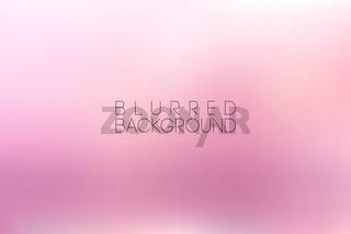 horizontal wide pink blurred background
