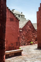 Santa Catalina Monastery, Arequipa, it's the most important religious monument of Peru