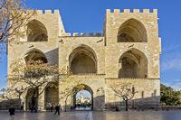 City Gate, Torres de Serranos, Valencia, Spain