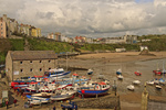 UK Pembrokeshire Tenby Harbour