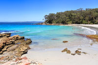 Beautiful beaches of Australia Blenheim beach