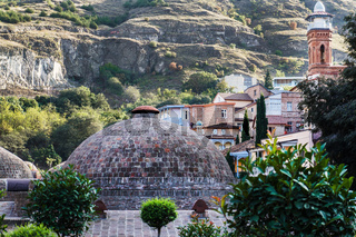 Beautiful and old city of Tbilisi