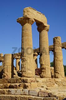 Agrigent, Tal der Tempel, Sizilien, Sehenswürdigkeit, UNESCO, Weltkulturerbe, Antike, griechisch