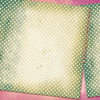 Grunge card for design polka dot background