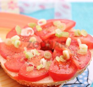 Tomatenbagel