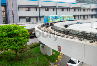 Changi Airport skytrain, Singapore