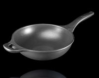 Teflon Pan, angle view.