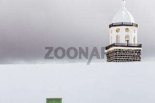 Kirchturm in Teguise, Lanzarote, Kanarische Inseln