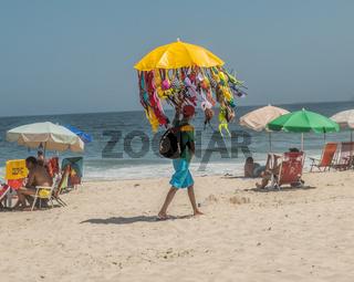 COPACABANA, RIO, STRANDLEBEN