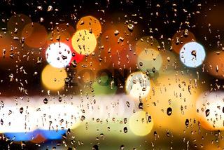 Drops on window