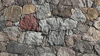 Feldsteinmauer