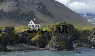 Tipical icelandic house