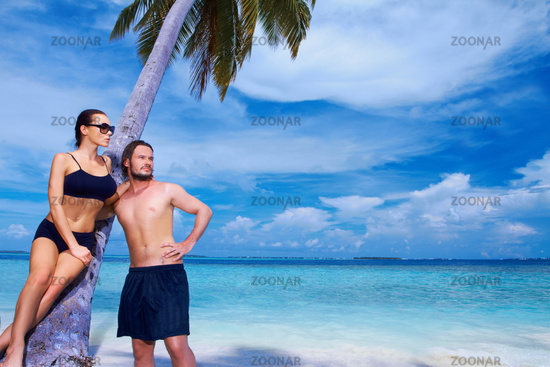 Couple at Maldives
