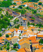 Monsanto village aerial view. Portugal