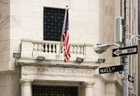 New York stock exchange, USA
