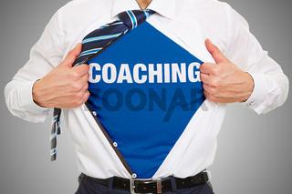 Business Coaching Konzept