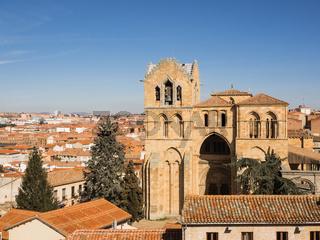 Luftaufnahme der Stadt Avila, Spanien