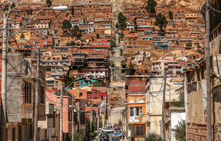 Dense architecture of Oruro