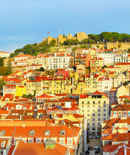 Lisbon Old Town and Castle