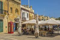 Open Air Restaurant, Marsaxlokk Village, Malta