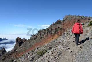 Wandern am Roque de los Muchachos, La Palma