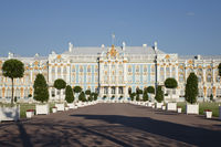 Katherines Palace hall in Tsarskoe Selo (Pushkin)