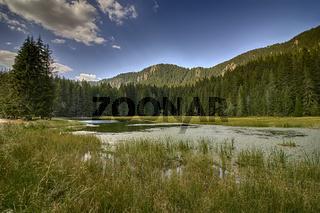 Grassy lake a part of Smolyan lakes