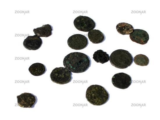 Foto Antike Römische Münzen Bild 782614