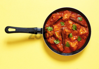 Indian food. Chicken curry