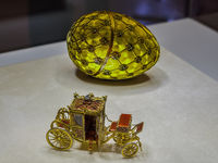 Coronation Easter Egg, Shuvalovsky Palace, St. Petersburg, Russia