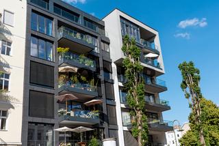 Modernes Apartmenthaus in Berlin